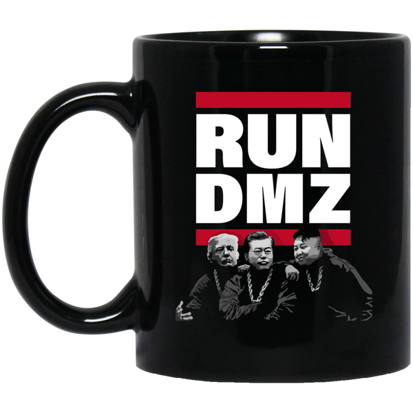 RUN DMZ: 11 oz. Black Mug