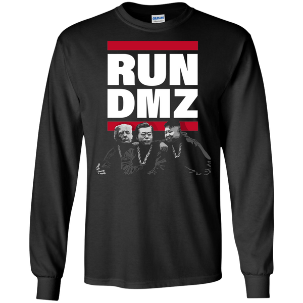 RUN DMZ:  LS Ultra Cotton T-Shirt
