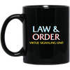 Law and Order VSU:. Black Mug