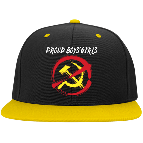 Just Say NYET PBG :Flat Bill High-Profile Snapback Hat