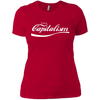 Enjoy Capitalism: Ladies' Boyfriend T-Shirt