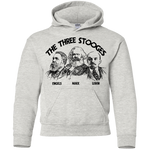 The Three Stooges: Youth Pullover Hoodie