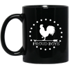 BWC: 11 oz. Black Mug