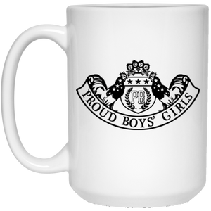PBG COUTURE: 15 oz. White Mug