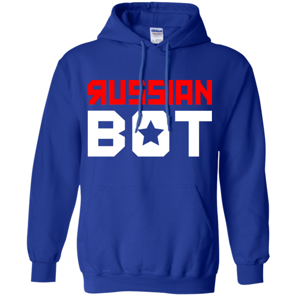 RUSSIAN BOT: Pullover Hoodie 8 oz.