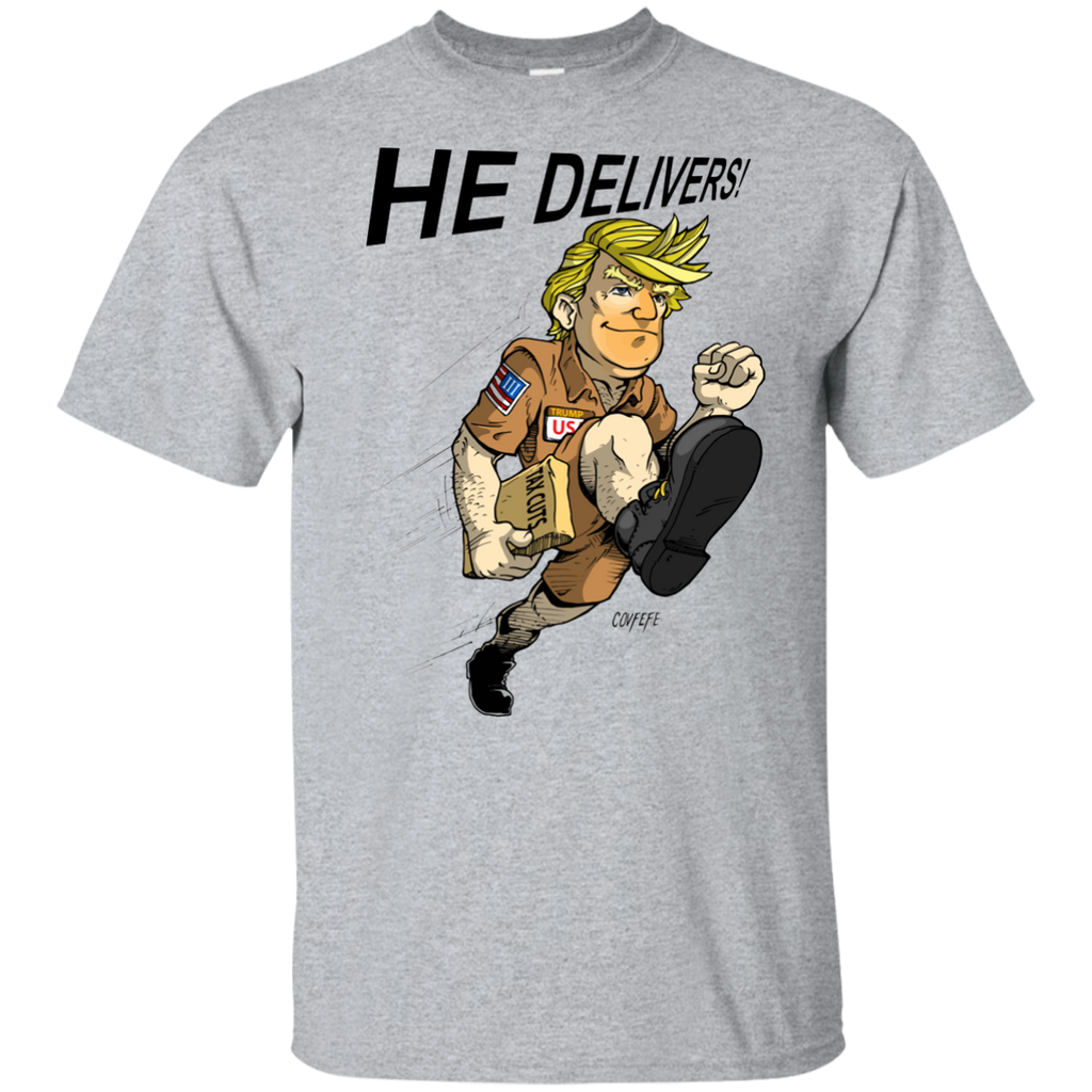 HE DELIVERS: Youth Ultra Cotton T-Shirt