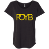 POYB(GOLD): Ladies' Triblend Dolman Sleeve
