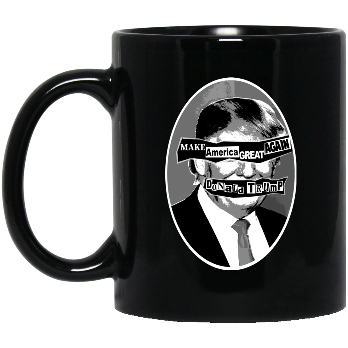 GOD SAVE THE PREZ: 11 oz. Black Mug