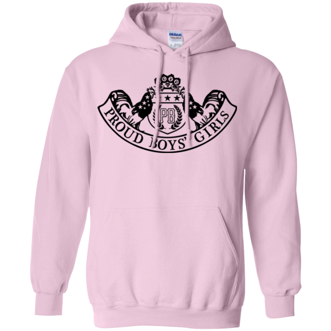 PBG COUTURE: Pullover Hoodie 8 oz.