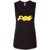 PBG GOLD: Ladies' Flowy Muscle Tank