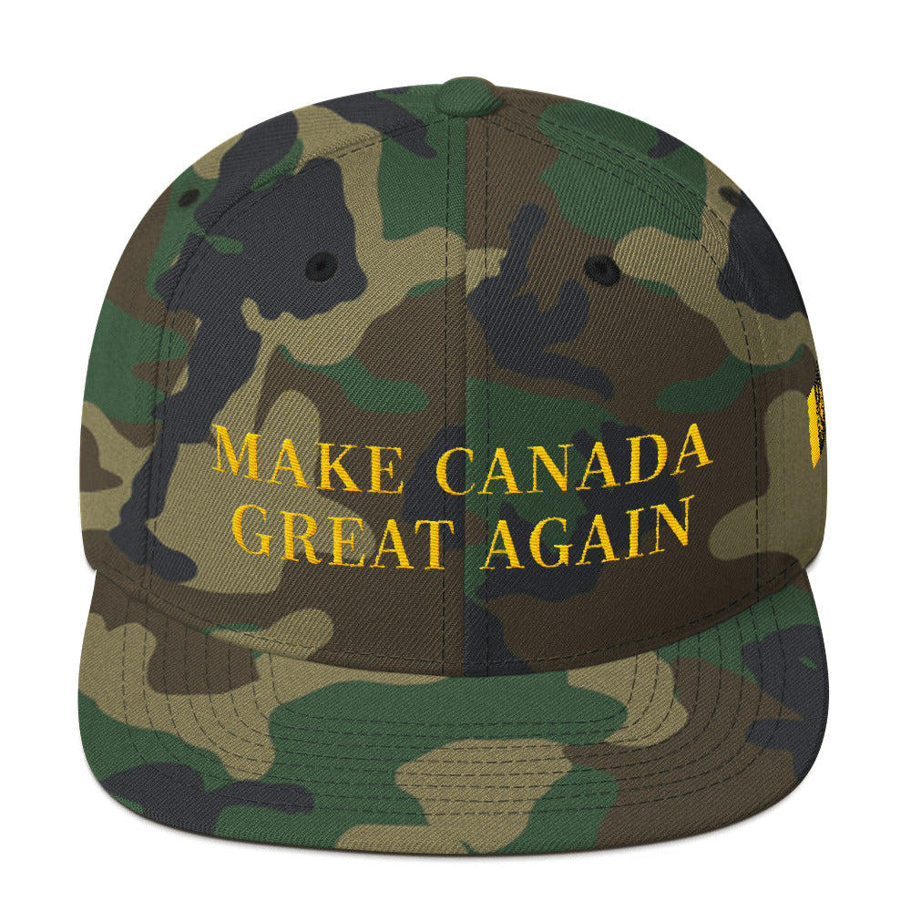 MAKE CANADA GREAT AGAIN: Snapback Hat