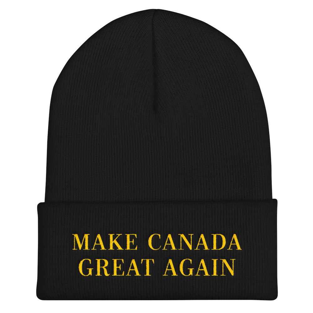 MAKE CANADA GREAT AGAIN: Cuffed Beanie