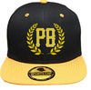 PB & Laurels Snapback (Color Options)