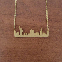 New York City Skyline Necklace