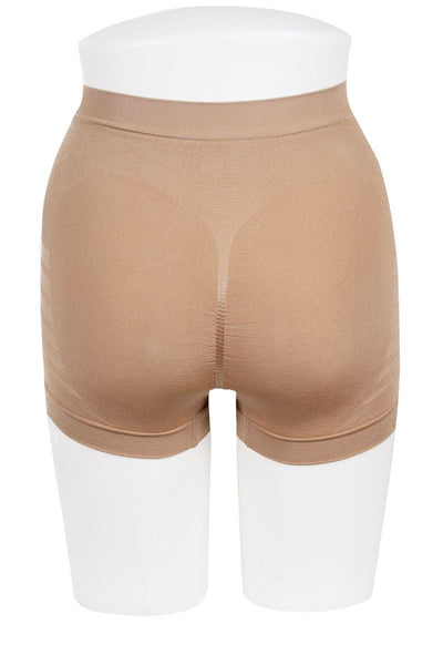 Ladies comfortable breathable microfiber fabric firm thigh control
