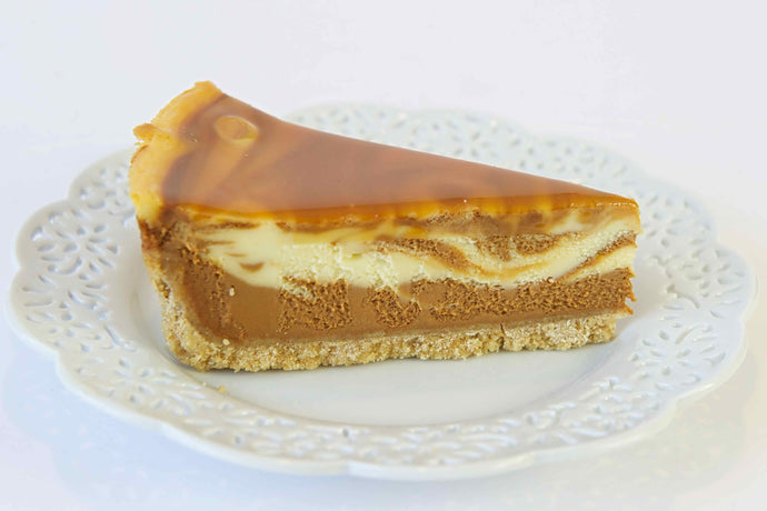 Sea Salt Caramel Cheesecake