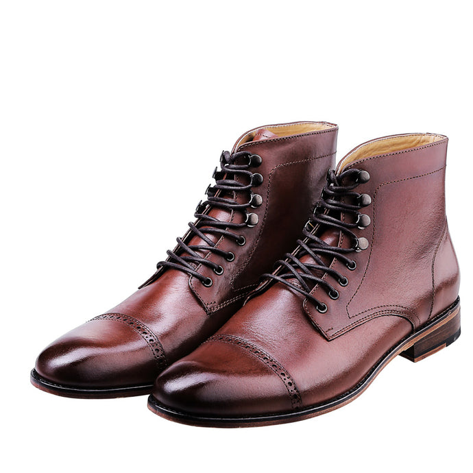 LOKI CAP TOE BROGUE | BROWN