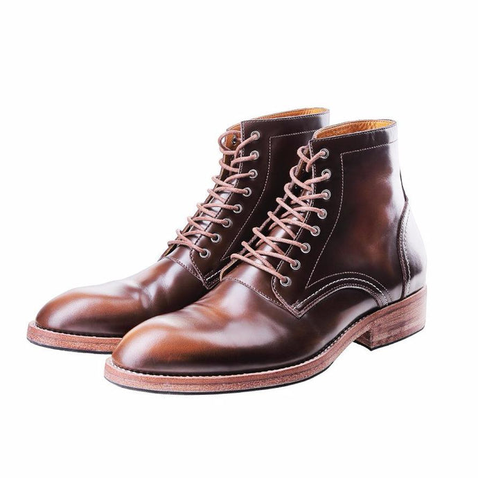 HEIMDALL PLAIN TOE | BRUSH OFF BROWN