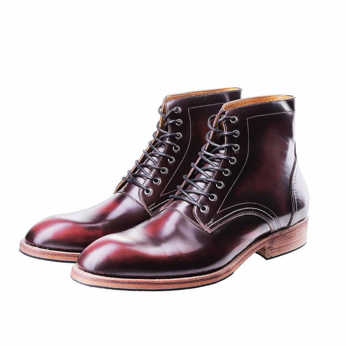 HEIMDALL PLAIN TOE | BRUSH OFF BURGUNDY