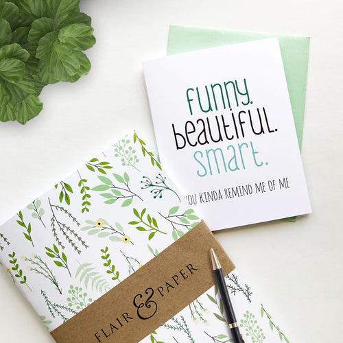 Botanical Lined Notebook