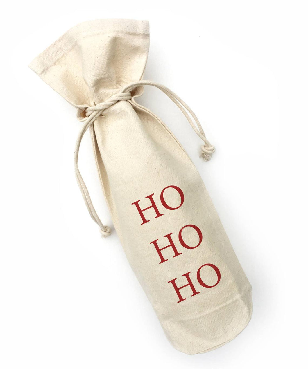 HO HO HO - Wine Bag