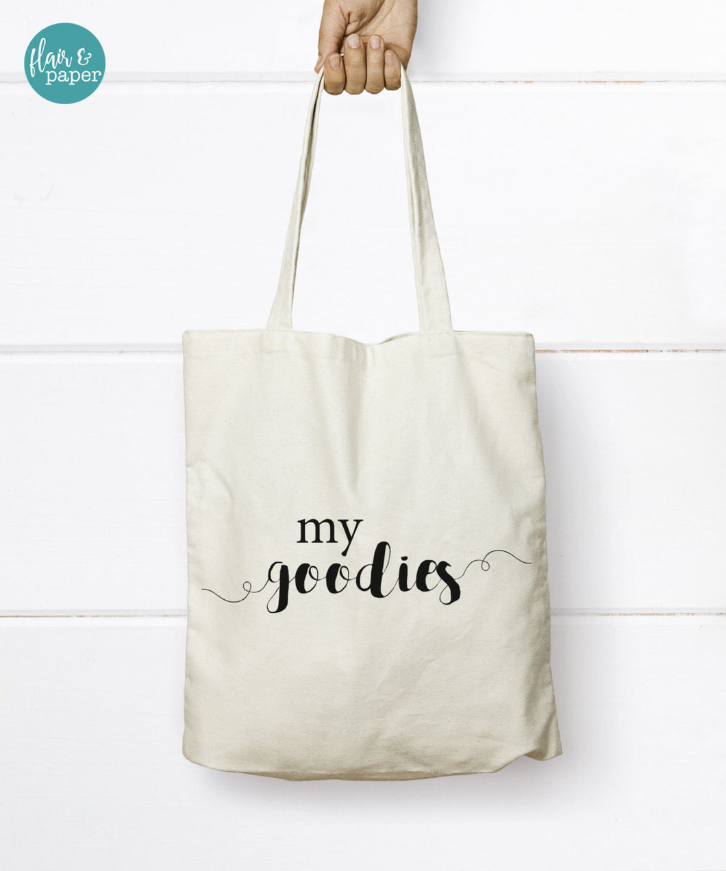 My goodies Tote Bag