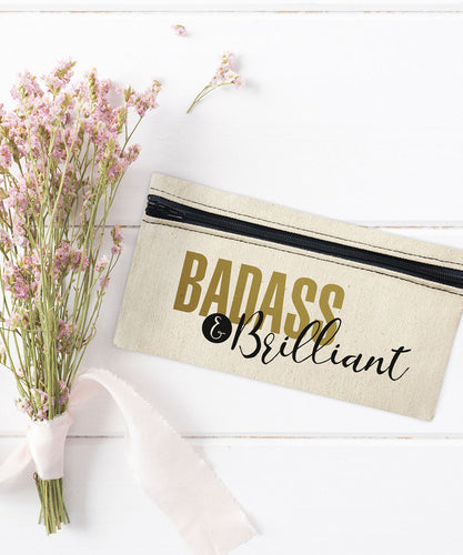 Badass & Brilliant Mini Makeup Bag
