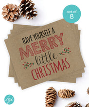 Have yourself a Merry Little Christmas (set of 8)