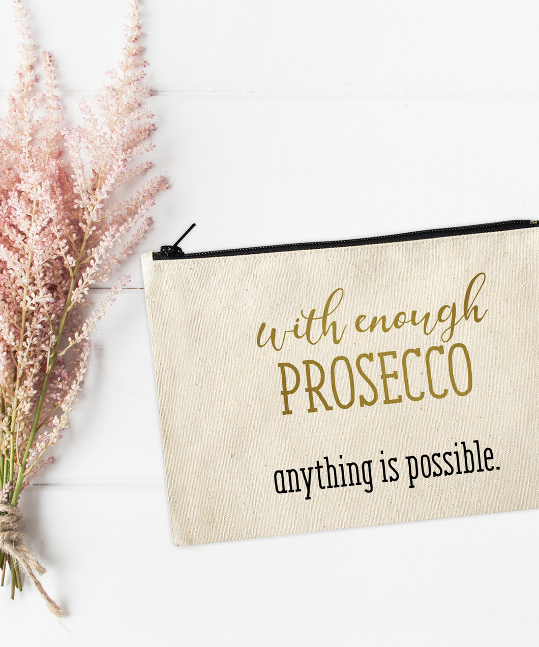 With enough Prosecco anything is possible