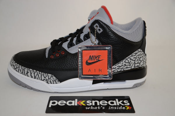 Nike Air Jordan 3 Retro Black Cement 2018 DS