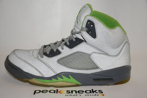 Nike Air Jordan 5 Retro Green Bean