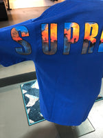 Supreme Crash Tee Royal