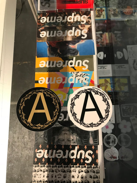 Supreme Undercover 'A' Sticker