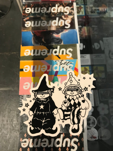 Supreme Undercover Dolls Sticker