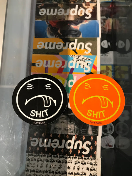 Supreme Shit Sticker