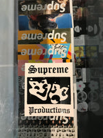 Supreme Productions Stickers