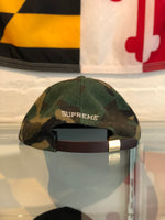 Supreme S Logo Wool Camo Camp Cap