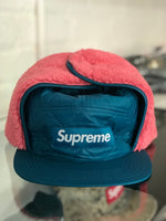Supreme Quilted Earflap Camp Cap