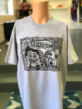 Supreme Faces Tee Grey