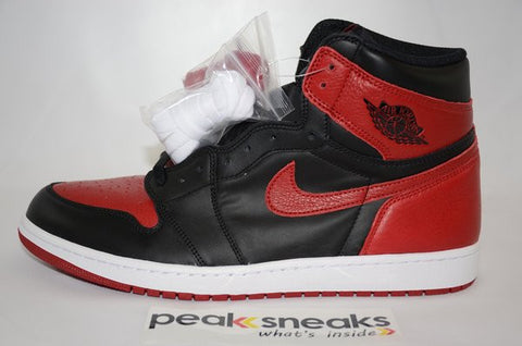 Air Jordan 1 Retro High OG Bred/Banned 2016 DS