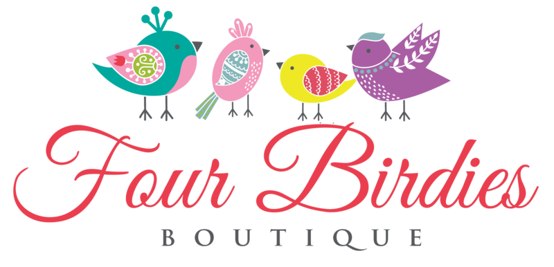 WE ARE LIVE!!! Four Birdies Boutique is up and running!
