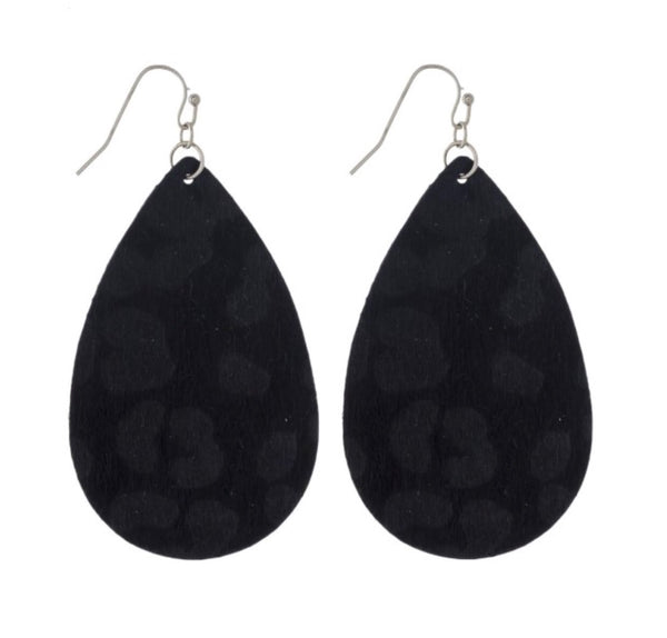 Leopard Tears Earrings