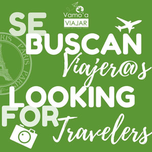 SE BUSCAN VIAJER@S | LOOKING FOR TRAVELERS
