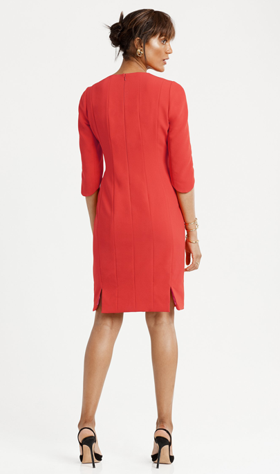Sculpted Sheath Dress from Cynthia Fields New York