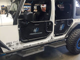 Hammerhead JK Wrangler X Series 4-Door Running Boards