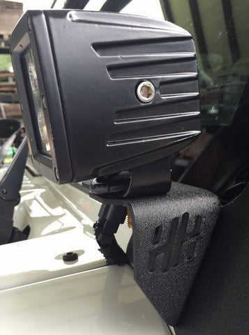 Hammerhead JK Wrangler A-Pillar Cube Light Mount