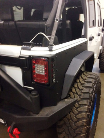 Hammerhead JK Wrangler Replacement Rear Flares