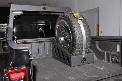 "Hammerhead Universal In-Bed 35""-37"" Spare Tire Carrier"