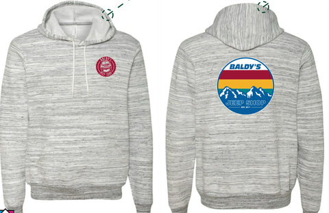 Baldy's Mountain Pull Over Hoodie