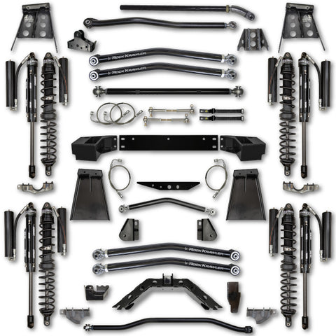 Rock Krawler JKU 4.5 Inch Trail Demon Long Arm Lift Kit w/ Shocks 07-18 Wrangler 4 Dr